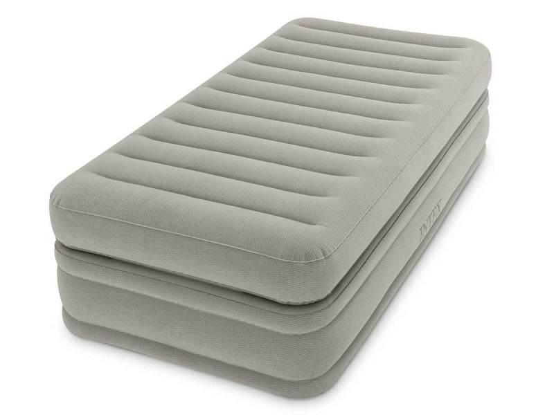 lit gonflable lectrique intex prime comfort 1 place vente de intex conforama. Black Bedroom Furniture Sets. Home Design Ideas