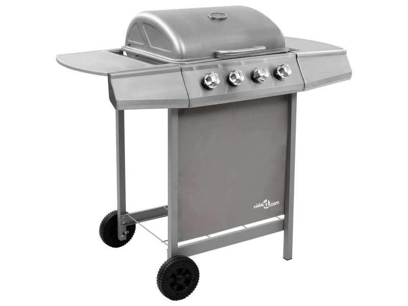 Splendide électroménager de cuisine categorie buenos aires barbecue gril à gaz avec 4 brûleurs argenté