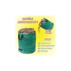 Sac à déchets verts autoportant 70l