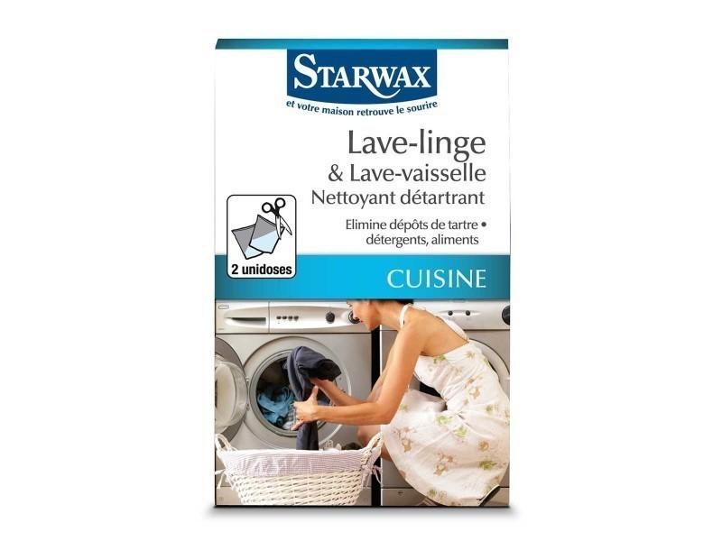 Nettoyant détartrant lave linge - lave vaisselle 2x75gr