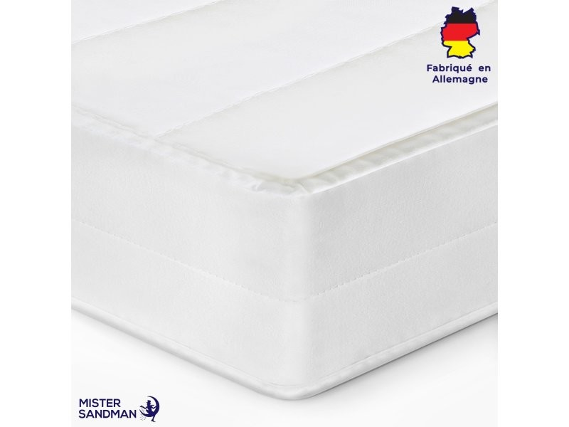 Matelas 180x200 matelas sommeil réparateur sans matière nocive confort ferme matelas housse lavable, épaisseur 15 cm