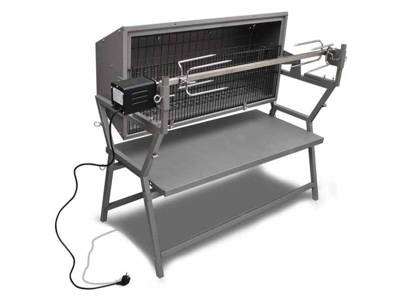 Stylé électroménager de cuisine reference suva rôtissoire en fer et en acier inoxydable
