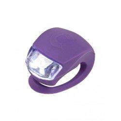Accessoire trottinette lumiere led micro violette