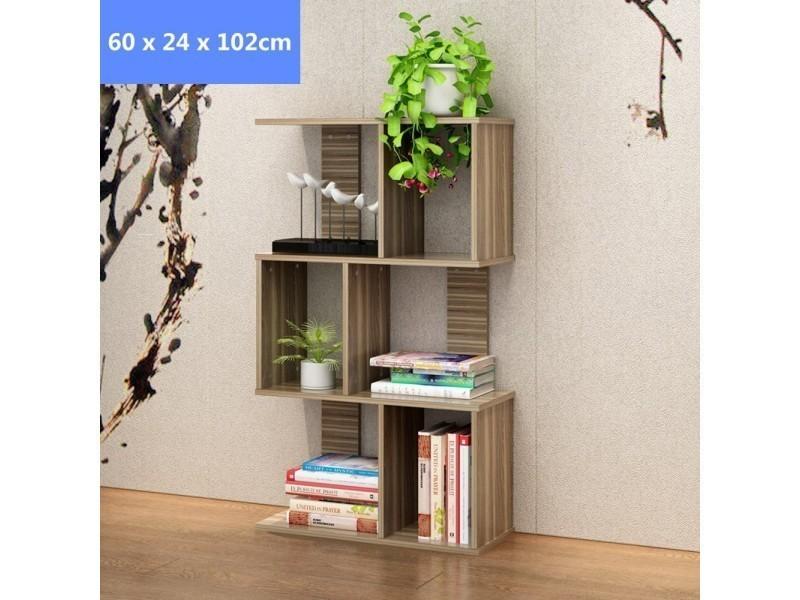 tag re biblioth que meuble style log pour enfants. Black Bedroom Furniture Sets. Home Design Ideas