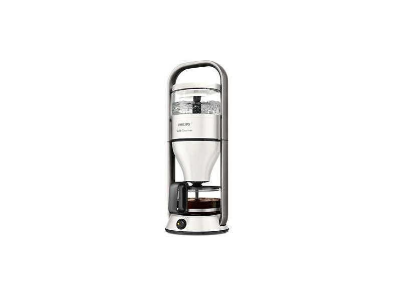 Cafetière électrique de 1l 1300w gris blanc