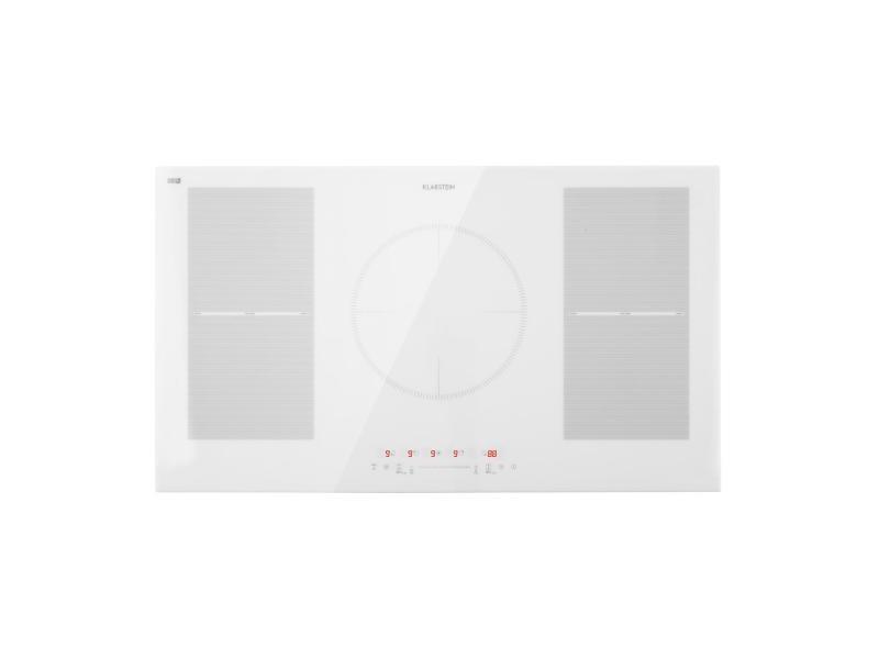 Plaque de cuisson à induction - klarstein delicatessa 90 flex - encastrable, 5 zones, 7000w max. - blanc CP4-Delicatessa90FWH