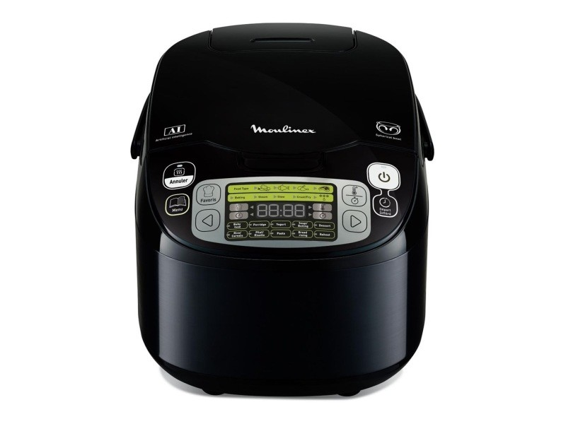 Moulinex multicuiseur noir 750w 5l mk815800