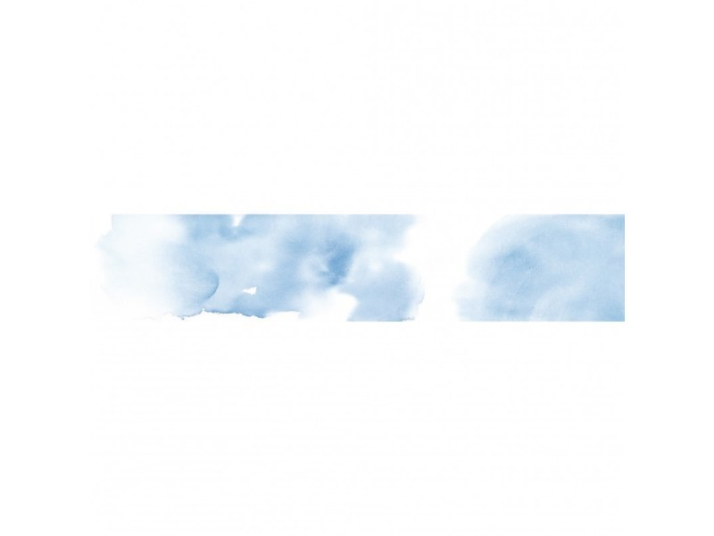 Brise vue 100% occultant nuage bleu 500 x 100 cm - canisse brise vent pour clôture de jardin