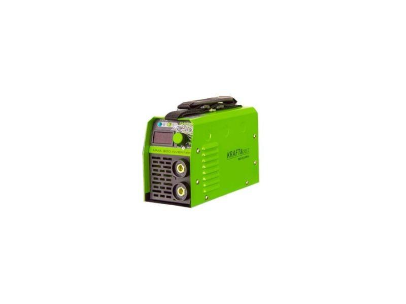 Dcraft - poste à souder mma igbt 300a - courant de soudage 20-300a - électrodes 1,6 - 3,25mm - hot start + anti stick + arc force - vert