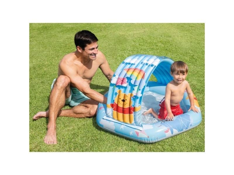 Intex piscine bébé winnie l'ourson multicolore 109x102x71 cm 92571