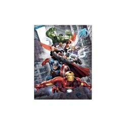 Avengers plaid ou couverture polaire hulk thor iron man hawkeye