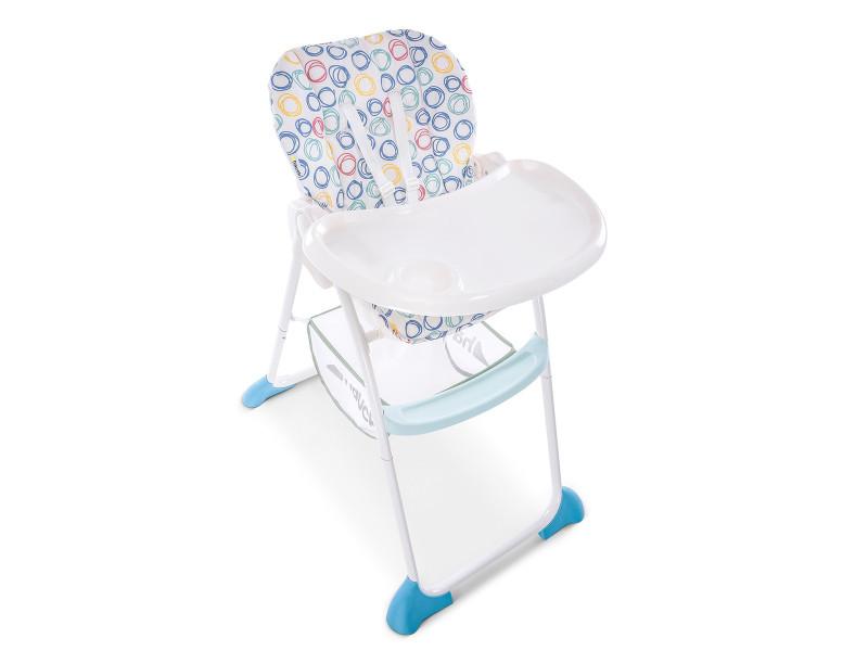Chaise haute bébé sit n fold pliage compact circles