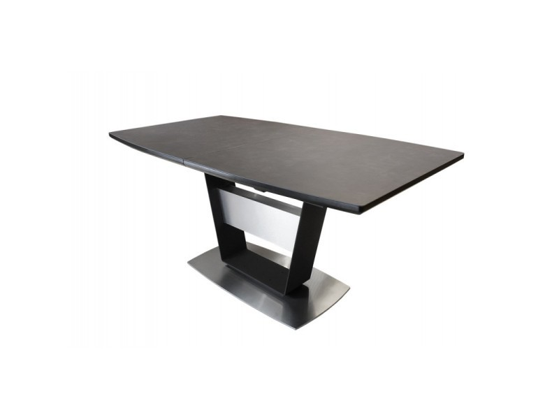 Table de repas céramique extensible 160 à 210 cm - divine