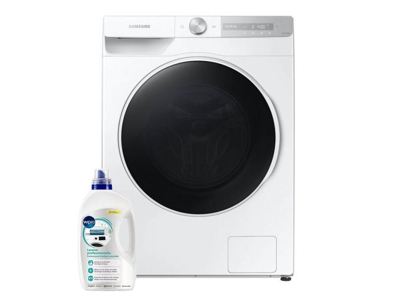 Lave-linge frontal 10.5kg a+++ 1400trs/min ecobubble machine à laver hublot