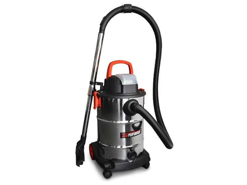 Aspirateur eau et poussière compact brushless sur batterie - xperformer xpvc20libl-30l - outil seul sans batterie ni chargeur