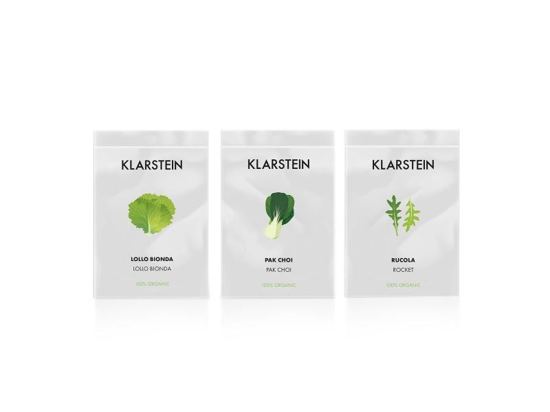 Klarstein growit seeds salad - 3 lots de graines pour jardin hydroponique : lollo bionda / pak-choi / roquette HGA3-GrowitSalad