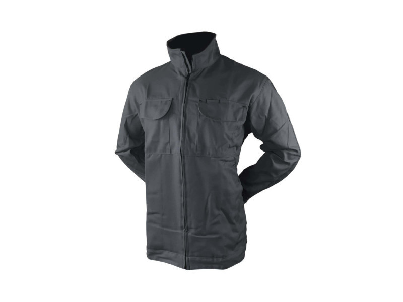 Veste-blouson de travail homme muzelle-dulac actionwork - charbon - taille 6 ACTIONBN20AS-VB-CH-6