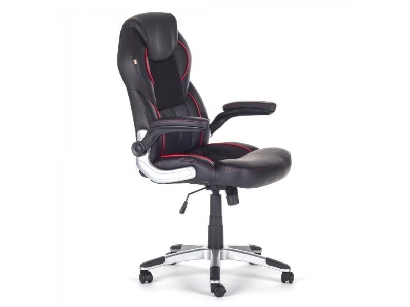 Cool ndiapolis chaise siege de bureau fauteuil hauteur - Chaise de bureau reglable en hauteur sans roulette ...