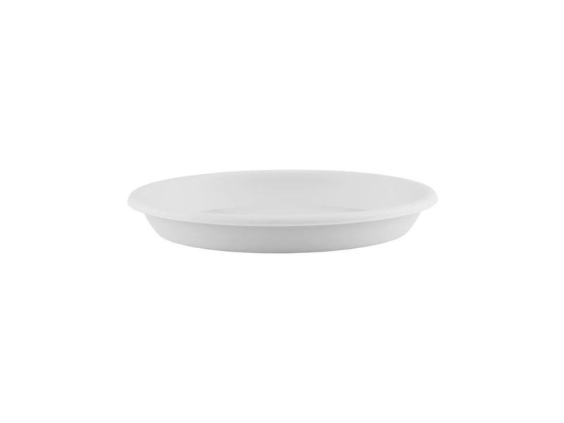 Soucoupe ronde 40cm blanc