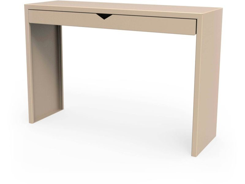 Console spirix beige sable hauteur 75 cm Csl_SPX_tir_h75_Sab