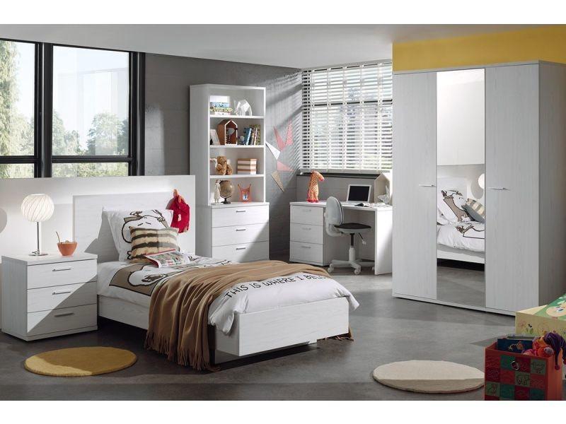 commode haute 5 tiroirs 86x44 cm coloris ch ne p 21116 co galeh vente de comforium conforama. Black Bedroom Furniture Sets. Home Design Ideas