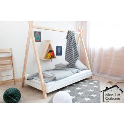 Lit enfant 80x190 cm conforama for Lit 80x200 conforama