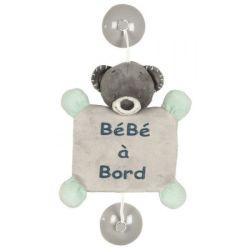 Bébé à bord Nattou Jules l'ours