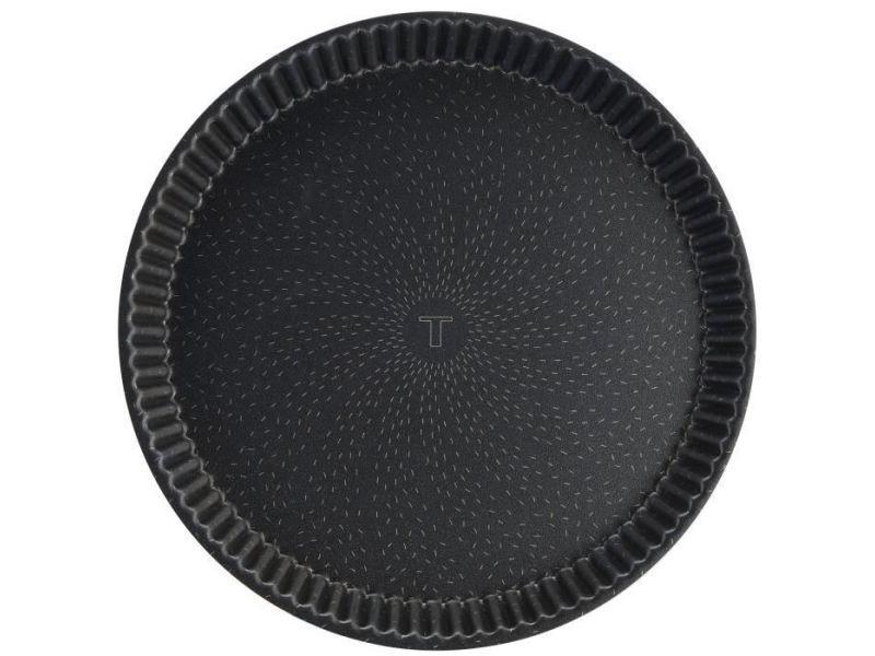 Plat pour four success j1602102 moule a tarte diametre - 33 cm - aluminium - marron
