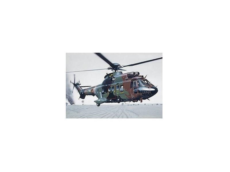 maquette helicoptere puma