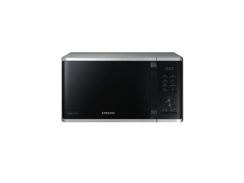 Samsung mw3500 countertop grill microwave 23l 800w noir, acier inoxydable