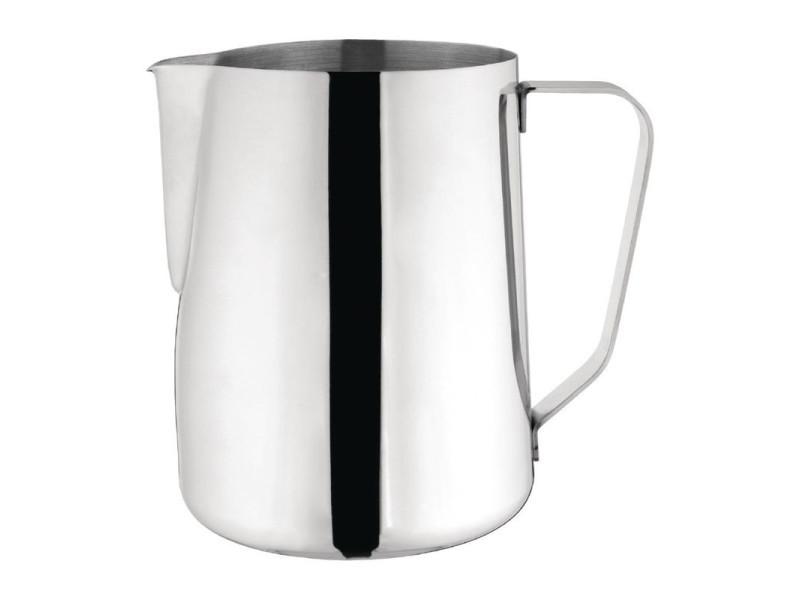 Pichet à lait en inox poli 2 litres - olympia - 11,5 cm inox 200 cl