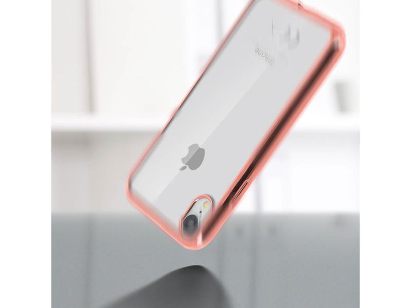 coque iphone xr contour rose