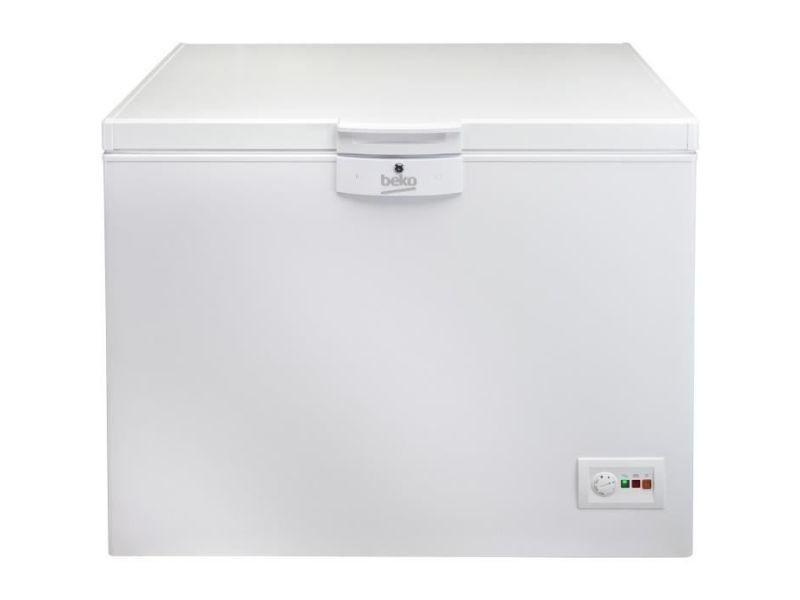 Congélateur coffre 298l froid low frost beko 110.5cm a+, bek5944008924157 BEK5944008924157