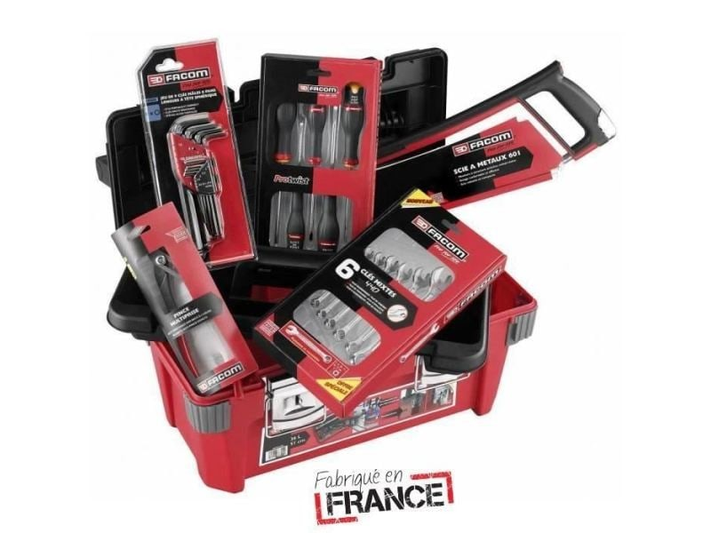 Coffret consommable caisse polypropylene + 22 outils