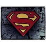 Dc comics plaque métal superman