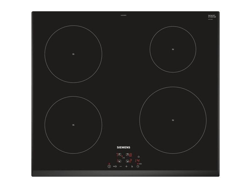 Table de cuisson à induction 60cm 4 feux 7400w noir - eh651beb1e eh651beb1e