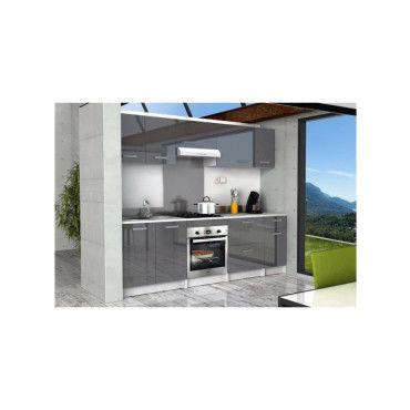 Start meuble bas de cuisine l 60 cm avec plan de travail Meuble bas cuisine conforama