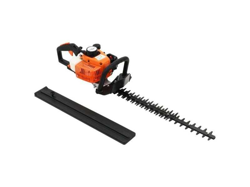 Magnifique équipement électrique d'extérieur collection thimphou taille-haie à essence 722 mm orange et noir