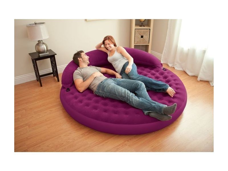 Pouf gonflable ultra daybed lounge - intex