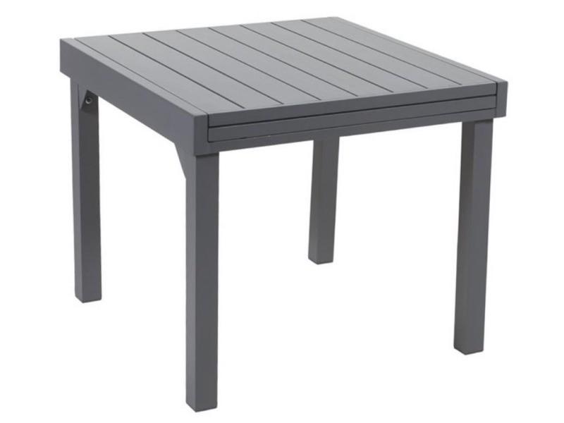 Table jardin full aluminium modulo 90 à 180 cm - Vente de WILSA ...
