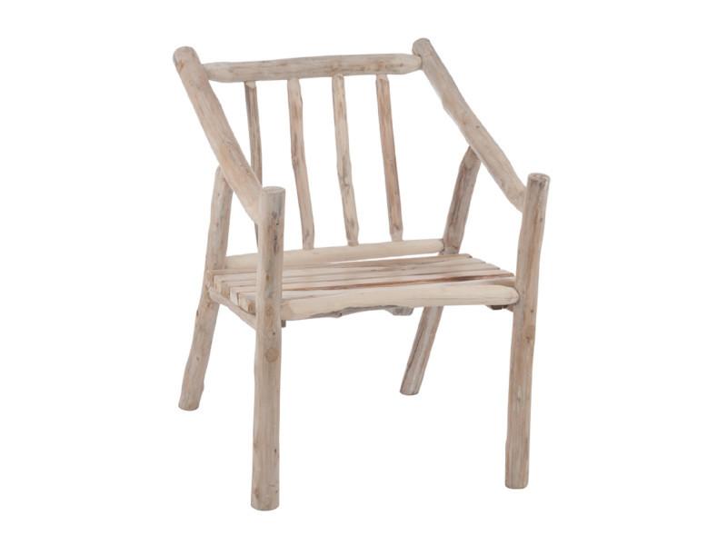 Chaise en bois naturel - aupure