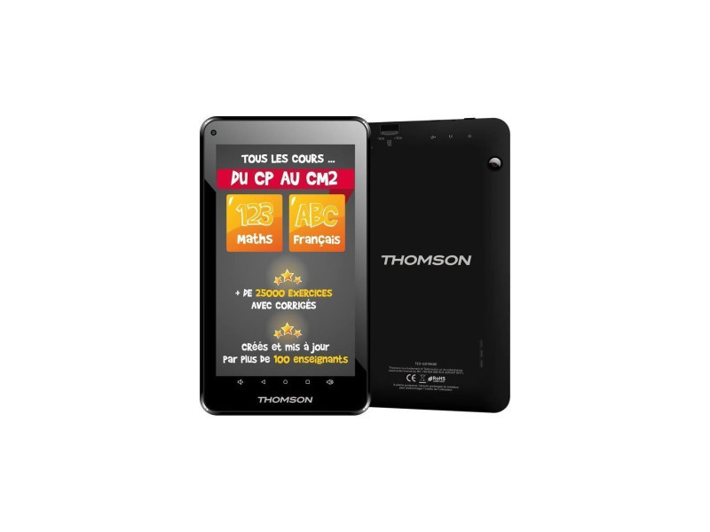 Thomson tablette tactile teo-qd7bk8egre 7