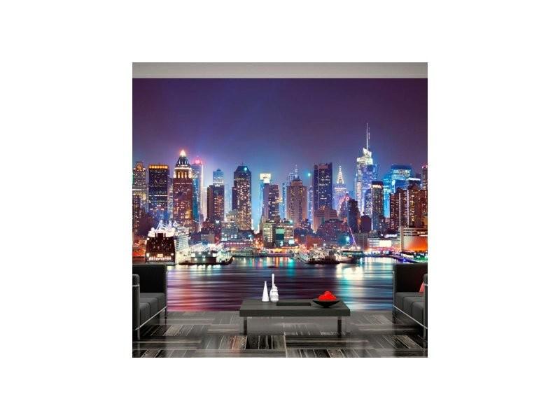Papier peint night in new york city A1-4XLFT290