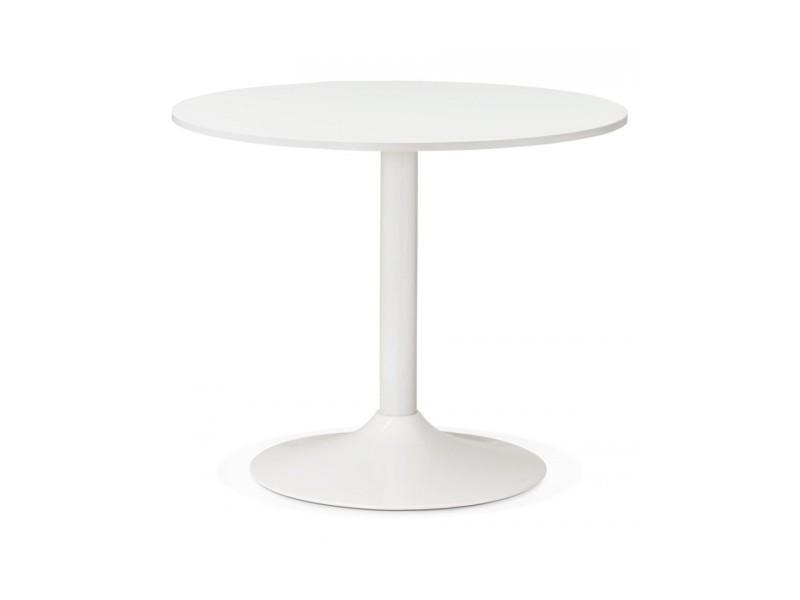 Bureau design rekon white 90x90x77 cm