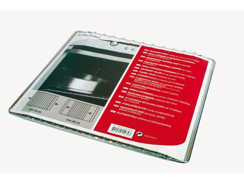 Grille inox universelle extensible 35x56 pour accessoires electrolux - 5028416000