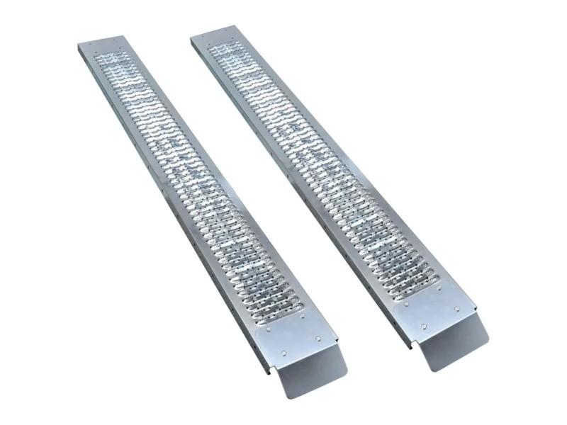 Distingué accessoires de chargement gamme basseterre rampes de chargement 2 pcs acier 450 kg
