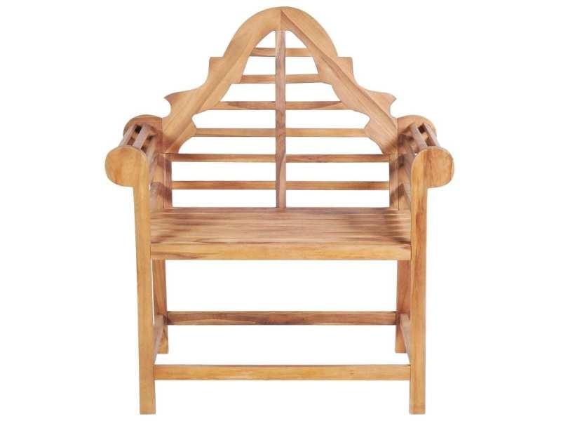Vidaxl chaise de jardin 2 pcs 91x62x102 cm teck solide 44732 ...