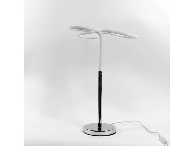 Lampe Led Design A Poser Angulaire Eclairage Dynamique Blanc Froid