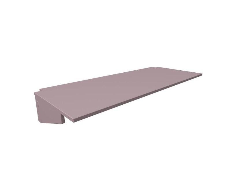Bureau tablette largeur 160 violet pastel BUR160-ViP