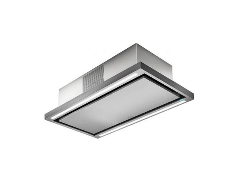 Hotte de plafond elica prf0141953 cloud seven ix / f / 90 - recyclage - 760 m3 air / h max - 3 vitesses - l 90 cm - inox PRF0141953